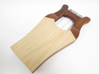 KINNOR KING DAVIDS HARP Light Renaissance w/ FREE CASE & Tuning Tool