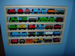 Tank Storage Display Rack Wooden Train Accessory Play Table