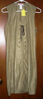 Renaissance Long Length Vest in 4 Colors in Size Small