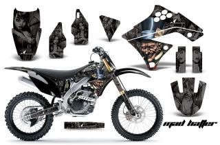 AMR Racing MX Graphic Kit Sticker Decal Bike Kawasaki KXF250 250f 09