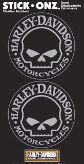 Harley Davidson Willie G Decal Sheet Decal