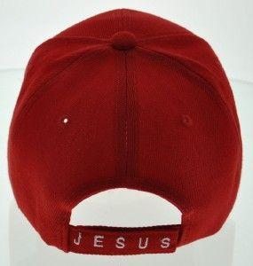 HEAVENLY DEVOTED SON JESUS CHRIST HARLEY DAVIDSON BALL CAP HAT RED