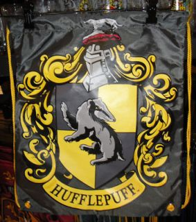 Wizarding World of Harry Potter Hufflepuff Backpack Bag Universal