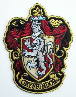 Harry Potter Gryffindor Large Embroidered Robe Patch