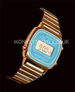 Brand New Ladies Gold Casio Watch LA670W ★new Colour ★