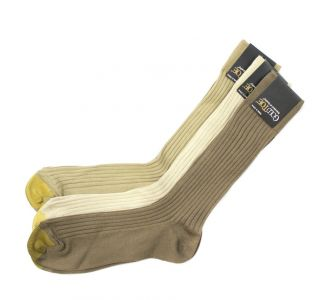 Gold Toe Mens Ribbed Mid Calf 3 Pair Pack Dress Socks