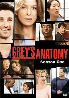 Greys Anatomy Season 1 DVD 2 Disc Set