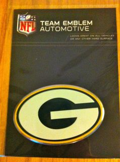 Green Bay Packers 3D Premium Die Cut Emblem for Car or Truck