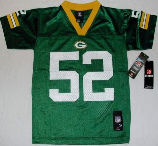 Green Bay Packers Clay Matthews 52 Reebok Replica Jersey Youth s M L