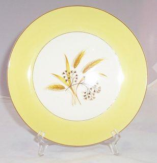 Century Alliance Autumn Gold Wheat Luncheon Plate s RAR