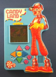 Hasbro Candyland Electronic Handheld Board Game Childrens Kids Candy