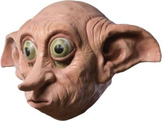 Harry Potter Dobby Deluxe Adult Mask Costume New