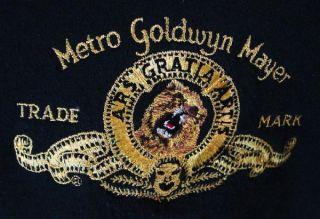Fame Metro Goldwyn Mayer MGM Crew sweat Shirt Jacket L
