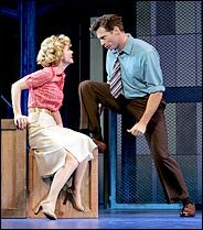 Pajama Game Harry Connick Jr Kelli OHara Cast Signed Broadway Poster