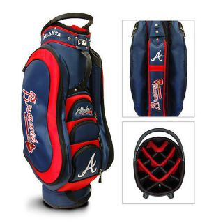 Atlanta Braves Medalist Golf Cart Bag Team Golf