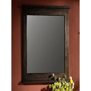 Legion Furniture 24 Vanity Mirror in Dark Walnut   WLF5047 DW 24M
