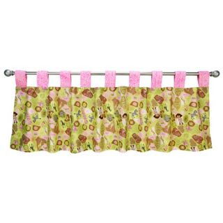 Trend Lab Nantucket Blue Grommet Style Window Valance