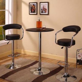 Home Styles Countour Black & Oak Pub Set   5644 88 / 5982 35