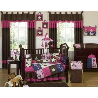 Sweet Jojo Designs Cowgirl Western Crib Bedding Collection