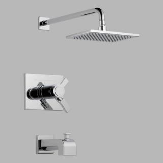 Delta Innovations Pressure Balanced Volume Control Shower Faucet Trim