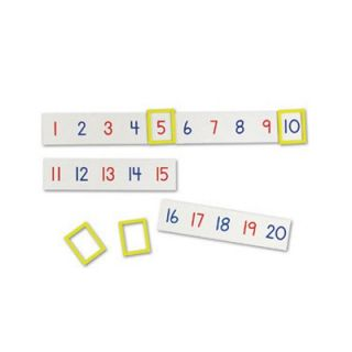 Learning Resources Magnetic Number Line   LER5194
