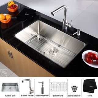 FrankeUSA 20 x 20 Stainless Steel Top Mount Kitchen Sink