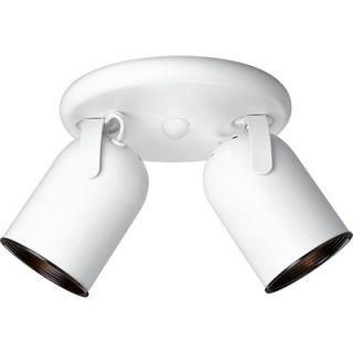 Back Directional Ceiling Semi Flush Mount 8 1/8 x 12 1/8   P6149 30