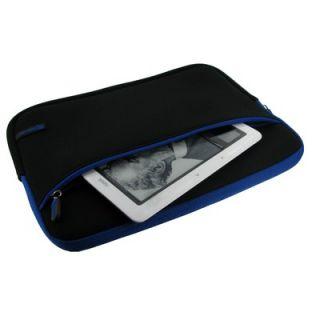 Dual Pocket Neoprene Sleeve Invisible Zipper Case for 11.6 Netbook