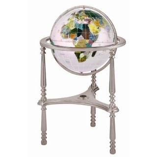 Alexander Kalifano 17 Ambassador Opal Globe with Three Leg High Stand