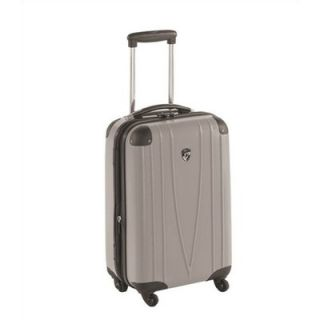 Heys USA 4WD 20 Hardside Spinner Carry On in Silver   D201 Silver