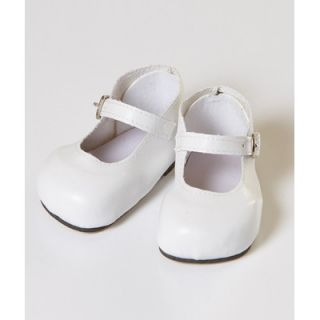 Adora Dolls 20 Doll Mary Jane Shoes in White   20721011