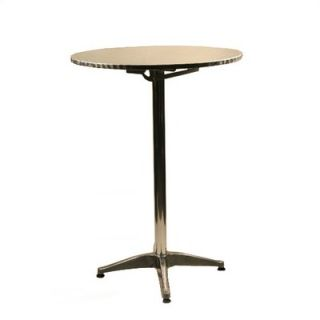 Alston 24 Round Top Aluminum Table   Bar Height   AT24RD/BT