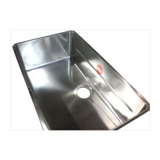 Franke Kubus 28 Stainless Steel Single Bowl Kitchen Sink   KBX11028