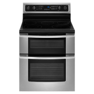 Whirlpool 30 Self Cleaning Double Oven Freestanding Electric Range