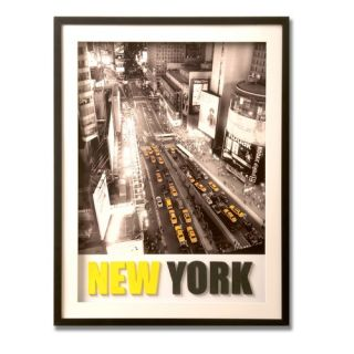 New York 3   D Framed Print Canvas Art   32 X 24