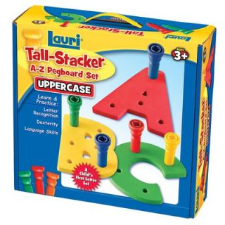 Patch Products Tall   Stacker Pegs A   Z Pegboard Set (Uppercase
