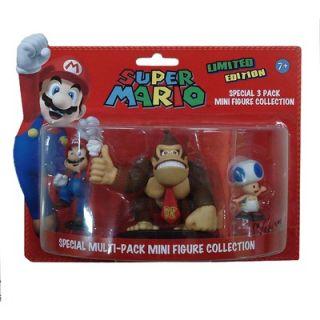 Goldie Marketing Super Mario Mini Special Figures (Set of 3)