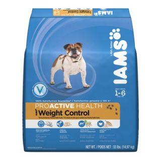 Health Adult Weight Control Dry Dog Food (33 lb bag)   019014609239