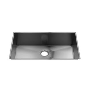 Julien UrbanEdge 34 x 19.5 Undermount Stainless Steel Kitchen Sink