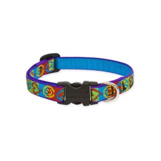 Lupine Peace Pup 1/2 Adjustable Small Dog Collar   CAT14333/34/35