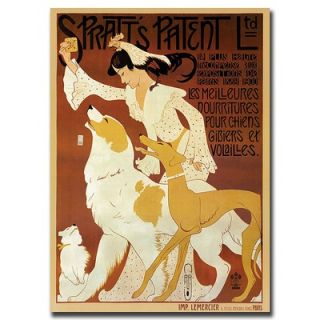 LTD by Auguste Roobille, Traditional Canvas Art   37 x 49