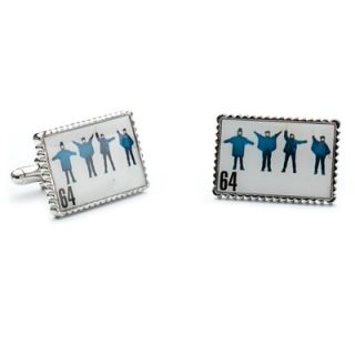 Penny Black 40 Beatles Help Album Cover Stamp Cufflinks   PB M9309