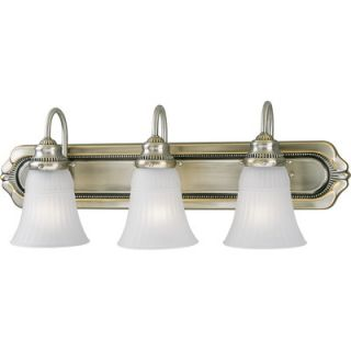 Lighting Huntington Colonial Silver Wall Sconce Strip   P3009 43