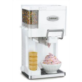Cuisinart Mix It In Soft Serve Ice Cream Maker in White   ICE 45