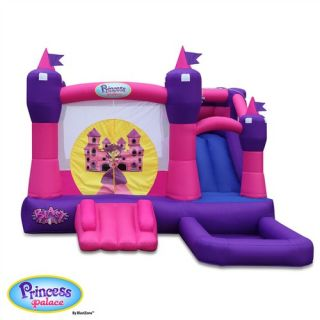 Blast Zone Princess Combo Bounce House   PRINCESS