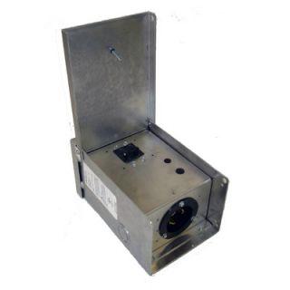 Gen Tran 50 Amp Aluminum Power Inlet Box w/Circuit Breaker