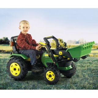 Peg Perego John Deere Loader Ride On Toy   IGCD0517