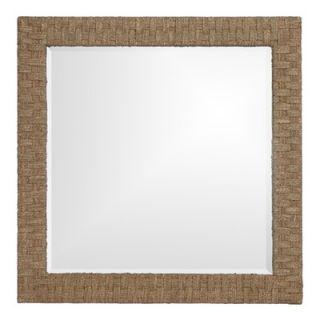 Howard Elliott Sea Grass Square Mirror