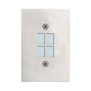 Eurofase In Wall Four Light Recessed in Satin Nickel   14789 014