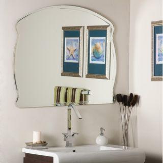 Decor Wonderland Frameless Molten Wall Mirror